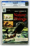 Golden Age (1938-1955):Miscellaneous, Four Color #842 The Nature of Things -- File Copy (Dell, 1957) CGC NM 9.4 Off-white pages. Painted cover. Jesse Marsh art. O...