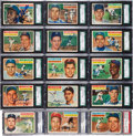 Autographs:Sports Cards, Signed 1956 Topps Baseball Partial Set (240/340). ...