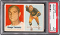 Football Cards:Singles (1950-1959), 1957 Topps George Tarasovic #39 PSA Mint 9 - None Higher....