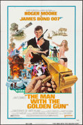 "Movie Posters:James Bond, The Man with the Golden Gun (United Artists, 1974). One Sheet (27"" X 41""). James Bond.. ..."