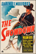 "Movie Posters:Western, The Showdown (Paramount, 1940). One Sheet (27"" X 41""). Western....."