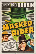 "Movie Posters:Western, The Masked Rider (Universal, 1941). One Sheet (27"" X 41"").Western.. ..."