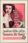 "Movie Posters:Romance, Goodbye, My Fancy (Warner Brothers, 1951). One Sheet (27"" X 41""). Romance.. ..."