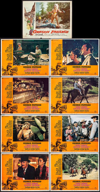 One More Train to Rob & Other Lot (Universal, 1971). Folded, Overall: Fine+. Lobby Card Sets of 8 (2 Sets), Lobby Ca...