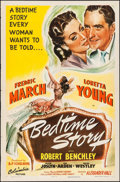 "Movie Posters:Comedy, Bedtime Story (Columbia, 1941). One Sheet (27"" X 41""). Comedy.. ..."