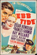 "Movie Posters:Adventure, Ebb Tide (Paramount, 1937). One Sheet (27"" X 41""). Adventure.. ..."