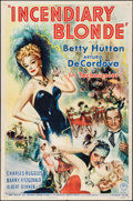 """Movie Posters:Musical, Incendiary Blonde (Paramount, 1945). One Sheet (27"""" X 41""""). Musical.. ..."""