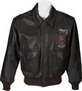 Books:Furniture & Accessories, [Mickey Spillane]. Mickey Spillane's A-2 Style Leather FlightJacket....