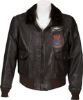Books:Furniture & Accessories, [Mickey Spillane]. Mickey Spillane's Leather Flight Jacket....