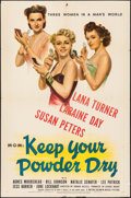 "Movie Posters:War, Keep Your Powder Dry (MGM, 1945). One Sheet (27"" X 41""). War.. ..."