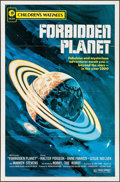 """Movie Posters:Science Fiction, Forbidden Planet (MGM, R-1972). Children's Matinee One Sheet (27"""" X41""""). Science Fiction.. ..."""