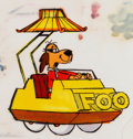 Animation Art:Concept Art, Hong Kong Phooey Phooeymobile Concept Art Signed by JerryEisenberg (Hanna-Barbera, 1974)....