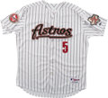 Baseball Collectibles:Uniforms, 2006 Jeff Bagwell Game Worn Houston Astros Jersey. ...