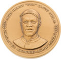 """Baseball Collectibles:Others, Circa 2000 John Henry """"Pop"""" Lloyd Medal Presented to Monte Irvin...."""