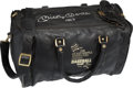 Baseball Collectibles:Others, Circa 1990 Mickey Mantle Signed Fantasy Camp Bag. ...
