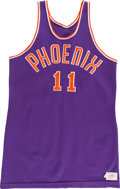 Basketball Collectibles:Uniforms, 1968-69 Neil Johnson Game Worn Phoenix Suns Jersey....