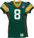 Football Collectibles:Uniforms, 1994 Mark Brunell Game Worn Green Bay Packers Jersey....