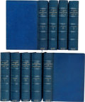 Books:Fine Bindings & Library Sets, John Greenleaf Whittier. The Works of John GreenleafWhittier. Boston: Houghton, Mifflin and Company, [1892].Ar... (Total: 9 Items)