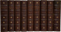 Books:Fine Bindings & Library Sets, Thomas Jefferson. The Writings of Thomas Jefferson: Being His Autobiography, Correspondence, Reports, Messages, Ad... (Total: 9 Items)