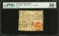 Colonial Notes:Georgia, Georgia June 8, 1777 $4 PMG About Uncirculated 50 EPQ.. ...