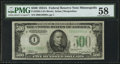 Fr. 2202-I $500 1934A Federal Reserve Note. PMG Choice About Unc 58