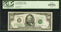 Small Size:Federal Reserve Notes, Specimen Fr. 2119-B $50 1977 Federal Reserve Note. PCGS Gem New 65PPQ.. ...