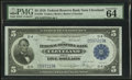 Large Size:Federal Reserve Bank Notes, Fr. 785 $5 1918 Federal Reserve Bank Note PMG Choice Uncirculated 64 EPQ.. ...