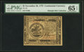 Colonial Notes:Continental Congress Issues, Continental Currency November 29, 1775 $5 PMG Gem Uncirculated 65 EPQ.. ...
