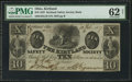Obsoletes By State:Ohio, Kirtland, OH- Kirtland Safety Society Bank $10 Feb. 10, 1837 G10Wolka 1424-12. ...
