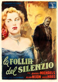 "Movie Posters:Bad Girl, Pickup (Columbia, 1952). Italian 4 - Fogli (55"" X 78"") AnselmoBallester Artwork.. ..."