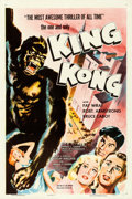 "Movie Posters:Horror, King Kong (RKO, R-1956). One Sheet (27"" X 41"").. ..."