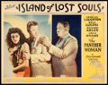 "Movie Posters:Horror, Island of Lost Souls (Paramount, 1933). Lobby Card (11"" X 14"").. ..."