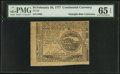 Colonial Notes:Continental Congress Issues, Continental Currency February 26, 1777 $4 PMG Gem Uncirculated 65 EPQ.. ...