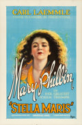 "Movie Posters:Drama, Stella Maris (Universal, 1925). One Sheet (27"" X 41"").. ..."
