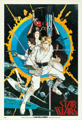 "Movie Posters:Science Fiction, Star Wars (20th Century Fox, 1976). Howard Chaykin PromotionalPoster (20"" X 29"").. ..."
