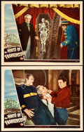 """Movie Posters:Horror, House of Frankenstein (Universal, 1944). Lobby Cards (2) (11"""" X14"""").. ... (Total: 2 Items)"""