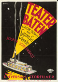 """Movie Posters:Musical, Show Boat (Universal, 1929). Swedish One Sheet (28"""" X 39.5"""") Musical.. ..."""