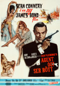 """Movie Posters:James Bond, From Russia with Love (United Artists, 1964). Swedish One Sheet (27"""" X 39"""").. ..."""