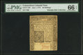 Colonial Notes:Connecticut, Connecticut July 1, 1775 40s PMG Gem Uncirculated 66 EPQ.. ...