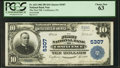 National Bank Notes:Pennsylvania, Confluence, PA - $10 1902 Plain Back Fr. 633 The First NB Ch. # 5307. ...