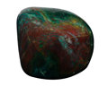 Lapidary Art:Carvings, Polished Bloodstone. India. 3.65 x 3.35 x 2.74 inches (9.28 x8.51 x 6.95 cm). ...
