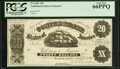 Confederate Notes:1861 Issues, T9 $20 1861 PF-12 Cr. 31.. ...