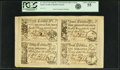 Colonial Notes:South Carolina, South Carolina April 10, 1778 2 Shillings & 6 Pence-5Shillings/3 Shillings & 9 Pence-10 Shillings Fr.SC-145-147/146-149. PCG...