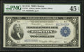 Large Size:Federal Reserve Bank Notes, Fr. 748 $2 1918 Federal Reserve Bank Note PMG Choice Extremely Fine 45 EPQ.. ...