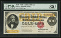 Large Size:Gold Certificates, Fr. 1215 $100 1922 Gold Certificate PMG Choice Very Fine 35 EPQ.....