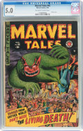 Golden Age (1938-1955):Horror, Marvel Tales #95 (Atlas, 1950) CGC VG/FN 5.0 Off-white to whitepages....