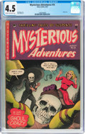 Golden Age (1938-1955):Horror, Mysterious Adventures #15 (Story Comics, 1953) CGC VG+ 4.5 Cream tooff-white pages....