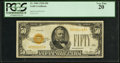 Small Size:Gold Certificates, Fr. 2404 $50 1928 Gold Certificate. PCGS Very Fine 20.. ...