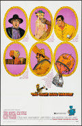 """Movie Posters:Western, The Great Bank Robbery & Other Lot (Warner Brothers-Seven Arts, 1969). One Sheets (2) (27"""" X 41""""). Western.. ... (Total: 2 Items)"""