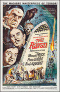 """Movie Posters:Horror, The Raven (American International, 1963). One Sheet (27"""" X 41"""").Horror.. ..."""